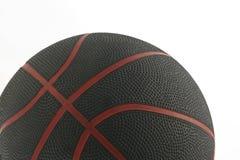 1个球篮子 免版税库存图片