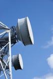 1个电信塔 免版税库存照片