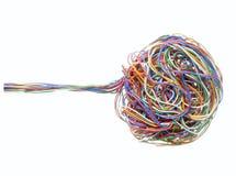 1个电缆电话 免版税图库摄影