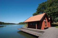 1个码头瑞典 库存照片