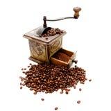 1个磨咖啡器 免版税库存照片