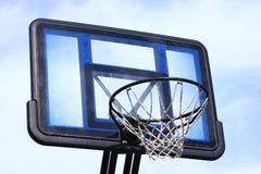 1个篮球目标 库存照片
