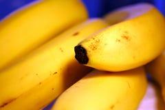 1个背景香蕉 免版税库存照片