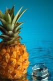 1个菠萝 免版税库存图片