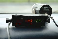 1个警察雷达 库存照片