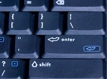 1个计算机键盘 库存照片