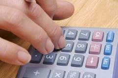1个计算 免版税库存照片