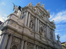 1个详细资料门面威尼斯式威尼斯 库存图片