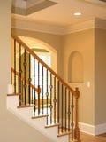 1个豪华楼梯 免版税库存图片