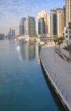 1个迪拜海滨广场 免版税库存图片