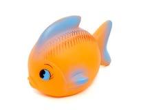 1个鱼玩具 库存照片