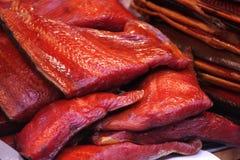 1个鱼红色 库存图片