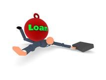 1个贷款项目 库存图片