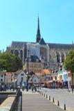 1个amiens大教堂法国 库存图片