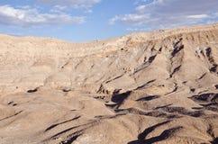 1个atacama智利沙漠月亮谷 免版税图库摄影