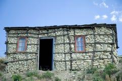 1个basotho小屋 库存照片