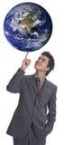 1个i规则世界 免版税库存照片
