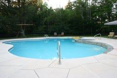 1个inground池 库存照片
