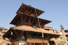 1个patan寺庙 免版税图库摄影