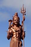 1个s shiva雕象 图库摄影