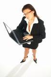 1企业性感的妇女 图库摄影