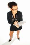 1企业性感的妇女 库存图片
