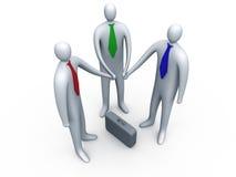 1企业链接 向量例证