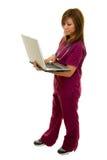 1位医生护士 免版税库存图片