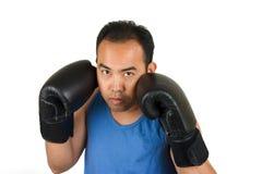 1位拳击手 免版税库存照片