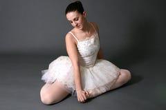 1位芭蕾舞女演员 免版税图库摄影