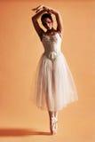 1位芭蕾舞女演员 图库摄影