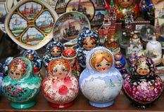 1俄语纪念品 免版税库存图片
