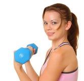 1健身女孩健康 免版税库存照片