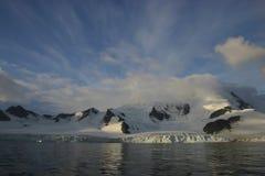 1南极洲横向 库存照片