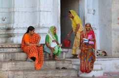 1印度streetscene 免版税库存图片