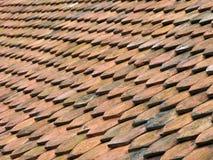 1古色古香的rooftiles 库存照片