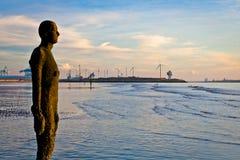 1另一个铁安排雕塑 免版税库存图片