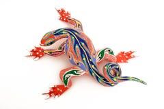 1只五颜六色的蜥蜴 库存图片