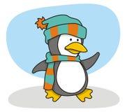 1只小的企鹅 免版税库存照片