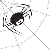 1只蜘蛛 免版税库存图片