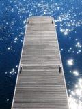 1只跳船 免版税图库摄影