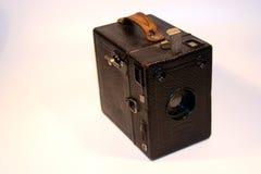 1台古色古香的照相机 免版税库存图片