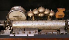 1台古色古香的过时留声机 库存照片
