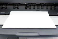 1台打印机 图库摄影