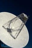 1台无线电望远镜 库存图片