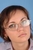 1名女实业家 免版税图库摄影