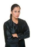1名秀丽西班牙法官妇女 免版税库存照片