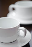 1咖啡杯 免版税库存照片