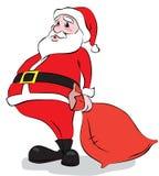 1圣诞老人 库存图片