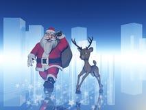 1圣诞老人 免版税库存照片